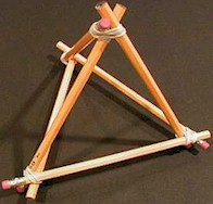 Easy to Make Triangle Stand