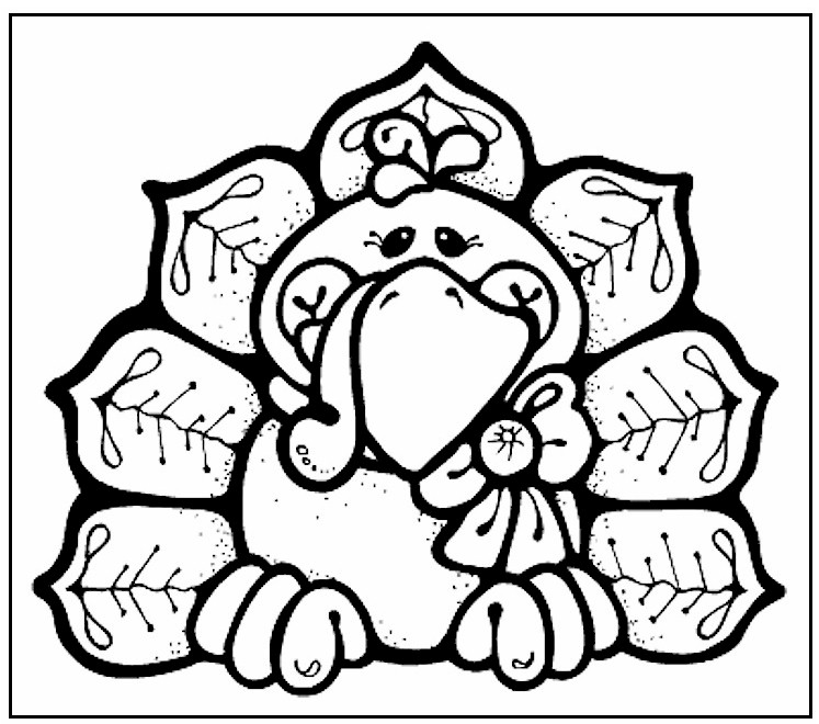 Image of Fall Coloring Pages