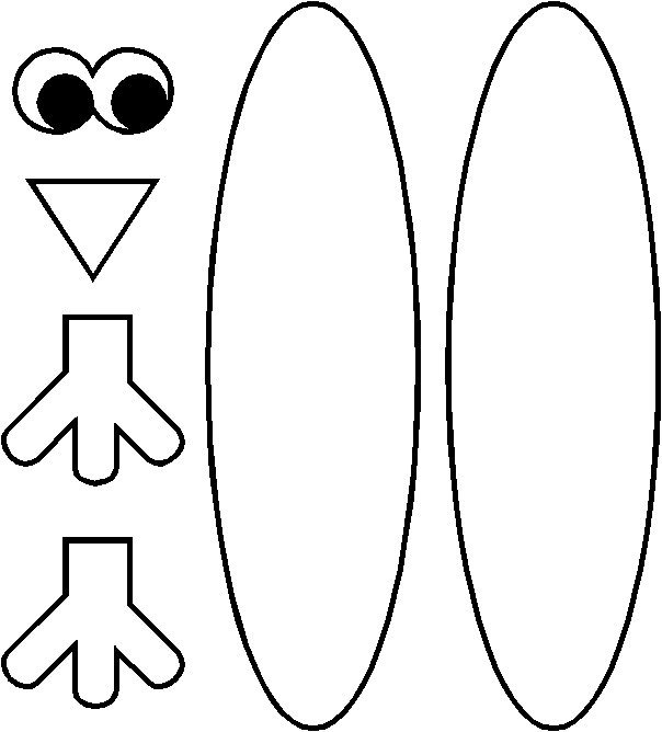 Obsessed image throughout free printable turkey feather template