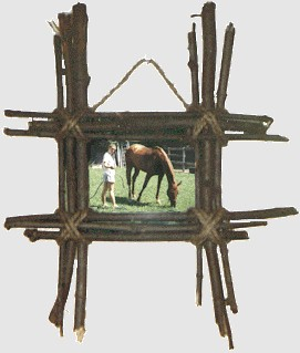 Image of Twig Picture Frame