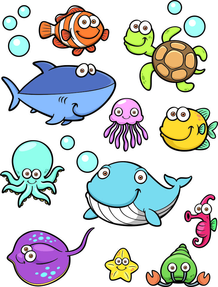Unusual image throughout fish cutouts free printable