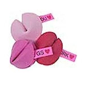 Fortune Cookie Valentine Pins