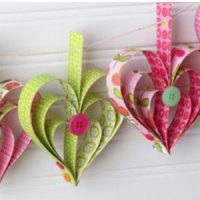 Image of Fancy Cut Paper Valentine
