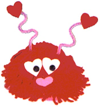 Image of Valentine Yarn Love Bug