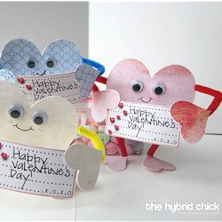 valentine people cards