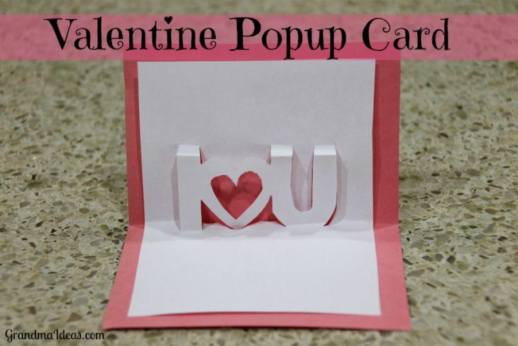 Pop-Up Valentine Card