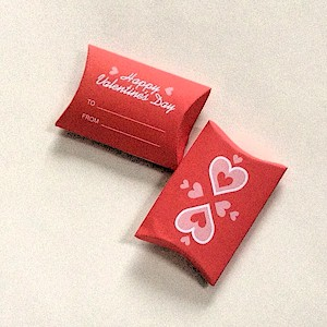 Image of Valentine Pillow Candy Box