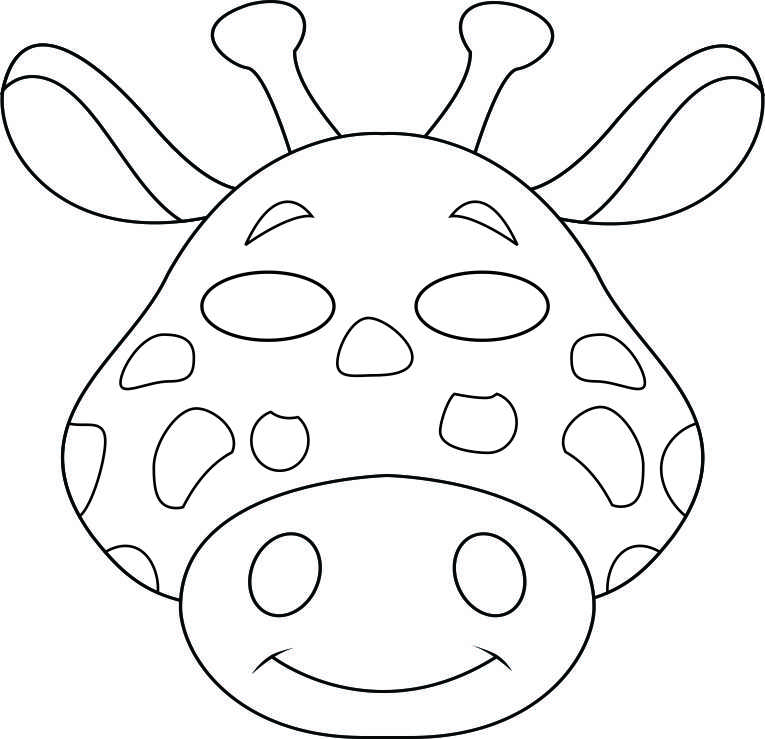Zany image intended for free printable animal masks