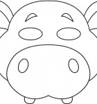 vbs-jungle-animal-mask-hippo-bw