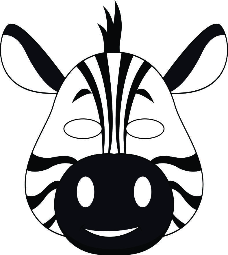 vbs-jungle-animal-mask-zebra-bw
