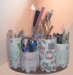 Image of Recycled Bottle Organizer