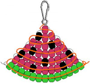 Image of Watermelon Bead Pattern