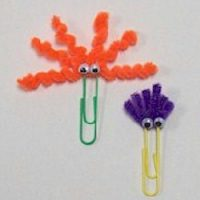 Image of Make Zany Bookmarks from Paper Clips