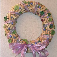 Image of Paper Flower Wreath