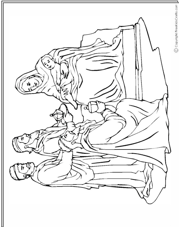 patterns templates and printables - Nativity Coloring Pages Printable