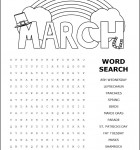 word-search-march