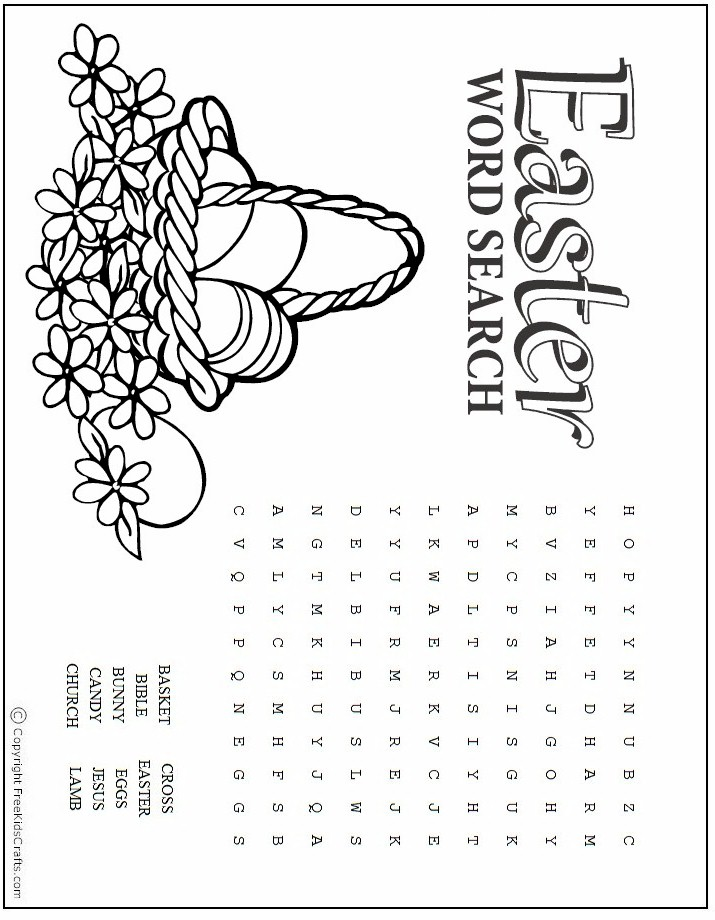 graphic regarding Free Printable Easter Word Search titled Easter Term Glimpse