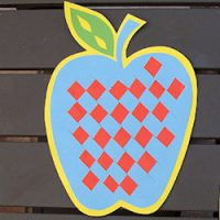 Image of Cross Stitch Apple