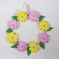 Image of Egg Carton Wreath