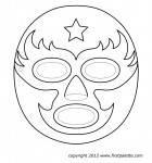 wrestling-mask-pattern