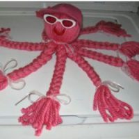 Image of No Sew Fleece Octopus