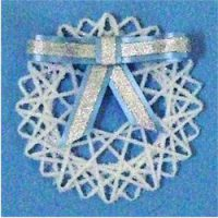 Image of Recycled Plastic Ring Snowflake