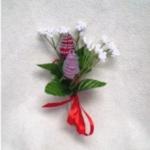 Zipper Rose Corsage