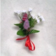 Rose Corsage made with zippers.